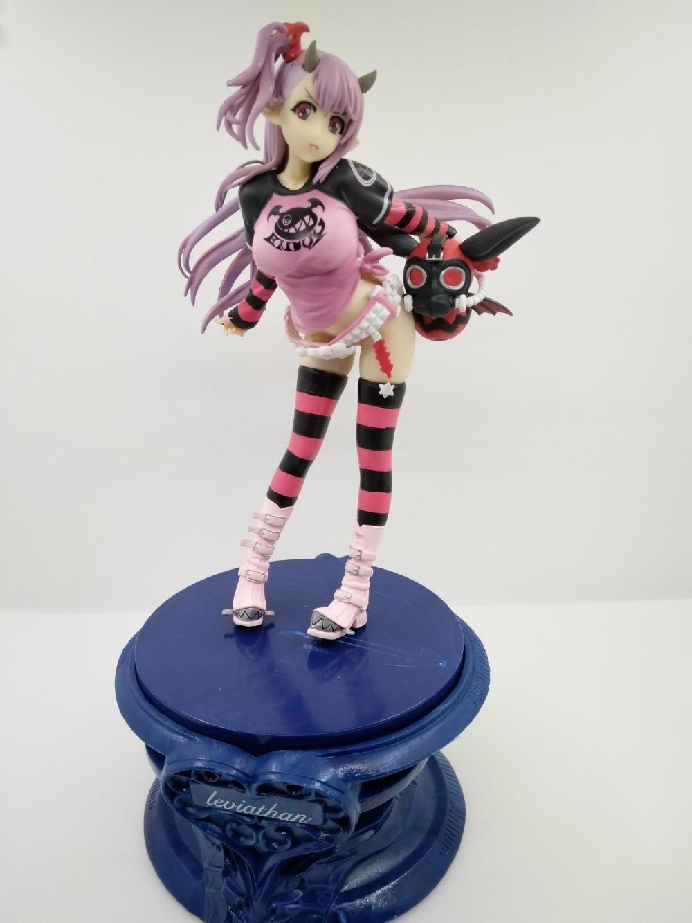 The Seven Deadly Sins Nanatsu no Taizai Serpent's Sin of Envy Leviathan 22cm PVC Action Figure Doll Toys nakaba suzuki the seven deadly sins 4
