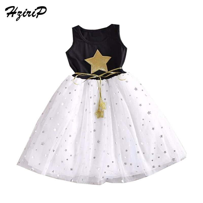 New Fashion Kids Baby Girls Dress Stars Sequins Tulle Bow Toddler Tutu One Piece Dress Children Princess Dresses Fit 1-11 Years  new hot sequins baby girls dress party gown tulle tutu bow heart shape dresses bridesmaid evening cute children dress