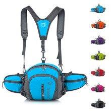 Outdoor Adjustable Running Bag Travel Handy Hiking Sport Waist Pack Waist Belt Pouch Strap Waterproof Sport Crossbody Bag