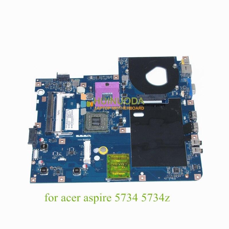 PAWF5 LA-4855P For acer aspire 5734 5734Z laptop motherboard GL40 DDR3