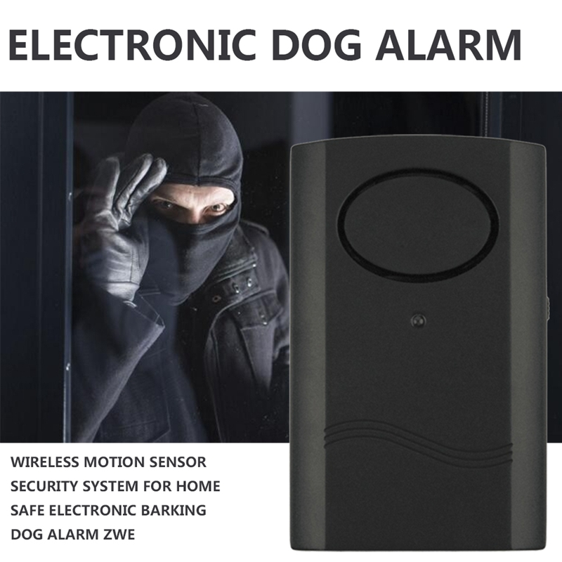 Wireless Motion Sensor Security System For Home Safe Electronic Barking Dog Alarm