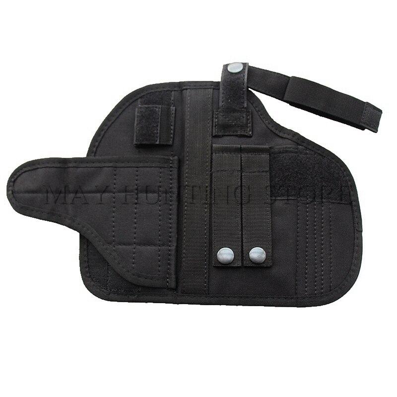 Caza al aire libre Tactical pistolera Molle cinturón pistola ...