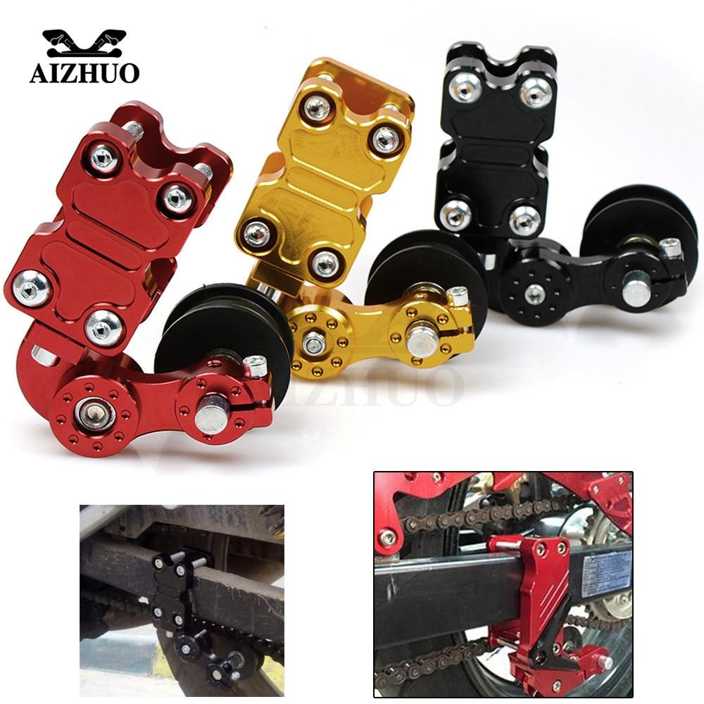 Motorcycle Adjustable Chain Tensioner Roller for KAWASAKI NINJA 300 NINJA 400R ZX1400 Z1000 Z750R ZX10R ZX6R 636 H2 H2R Z800 mtkracing cnc short adjusterable brake clutch lever for kawasaki zx6r 636 zx10r z1000sx ninja 1000 tourer z1000 z750r