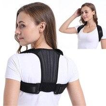 Sports Back Support Belt Men Women Shoulder Posture Corrector Children Adjustable Upper Corset