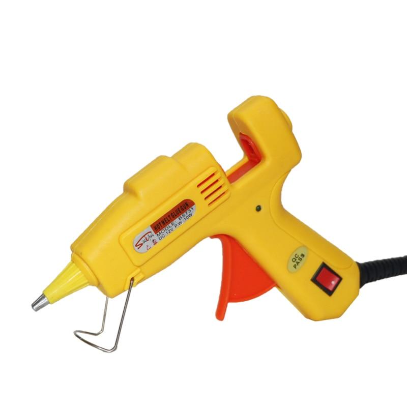 12V 10Wホットメルト接着剤銃ACからDCアダプターXT60 - パワーツール - 写真 3
