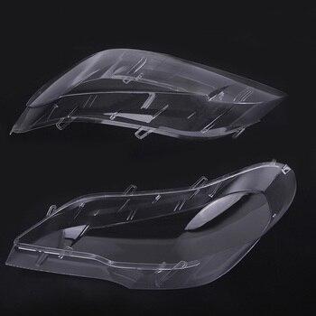 замена линзы фар | Горячая 1 шт. фары линзы абажур Крышка Замена для BMW E70 X5 08-13 JLD