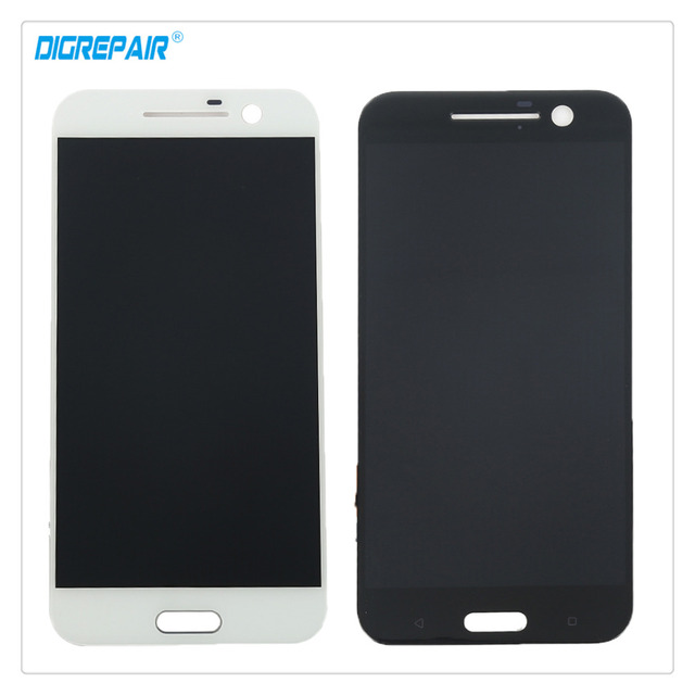 "5.2"" Black/White For HTC 10 ONE M10 Smartphone LCD Display Touch Screen Digitizer Full Assembly Replacement Parts, Free shipping"