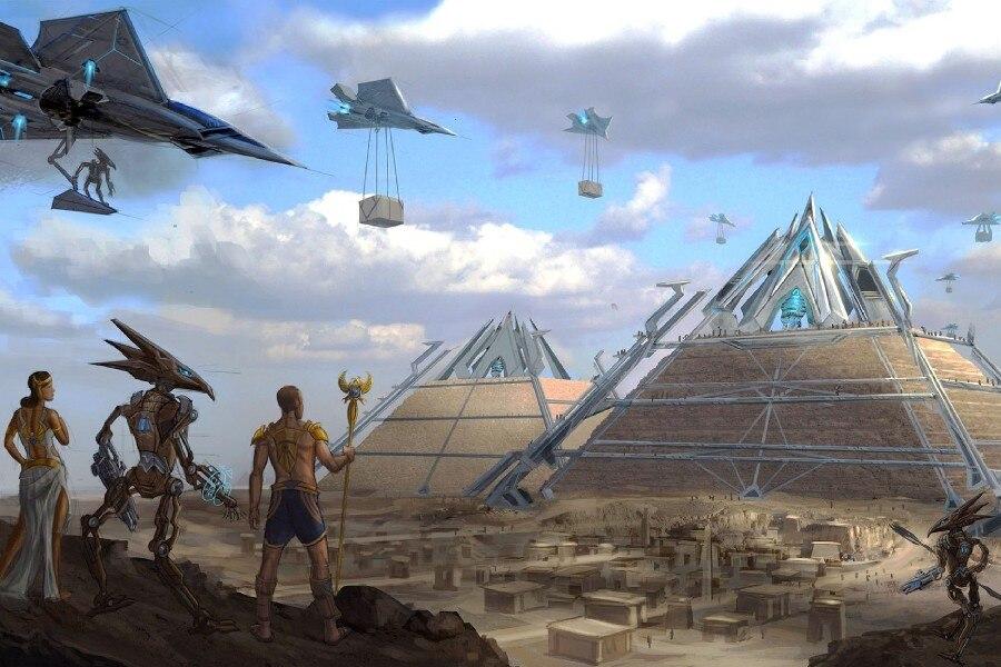 Online Kaufen Gro 223 Handel Alten 228 Gypten Pyramiden Aus China