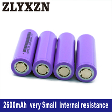 10PCS 18650 Li-ion 3.7v Battery 2600mAh 26f lithium batteries for Laptop,Toy,Electric drill battery,Power battery,lion