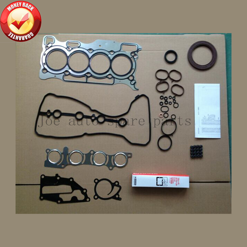 HR15 HR15DE 1.5L 1498CC Engine Full gasket set kit for Nissan Tiide/Wingroad/March/Note/Cube/Blue bird/Evalia/Juke/Sunny/Almera