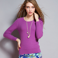 LHZSYY 2017 Autumn Winter New Cashmere Sweater Solid Color Pullover Sweaters Women Slim Short Paragraph Wool