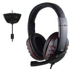 Gamer Over-ear Game Gaming Headphone Headset Earphone Headband with Mic Stereo Bass for xbox 360