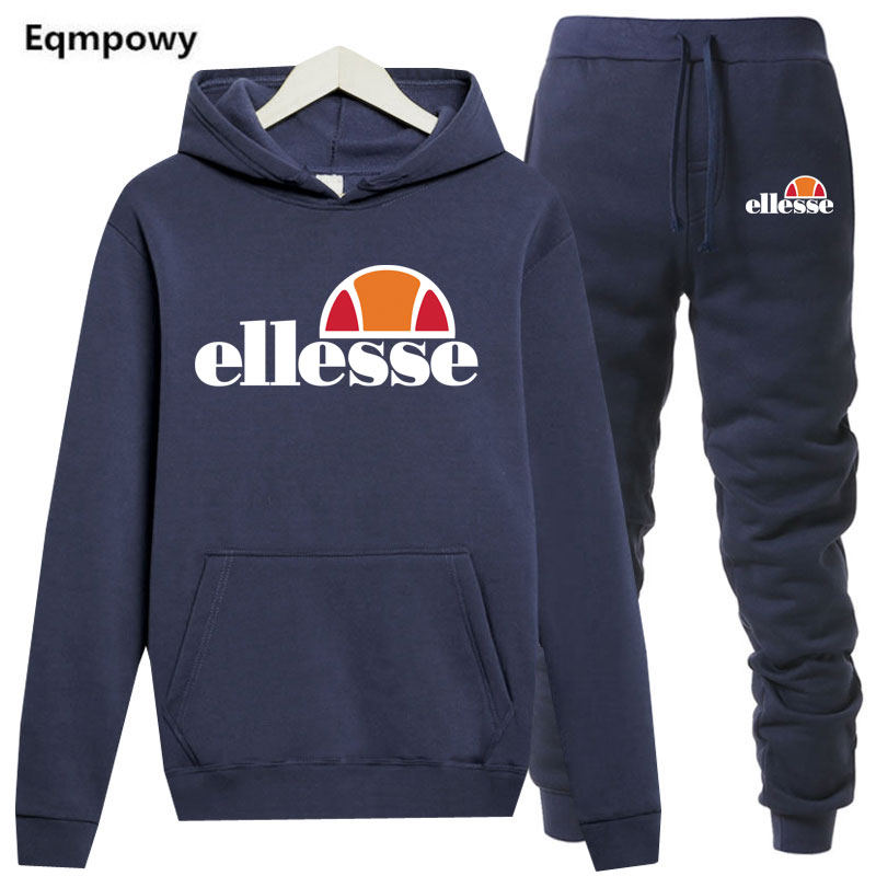 New Winter Tracksuits Men womanHoodies jacket + sweatpants Suit Spring Sweatshirt Sportswear Set Male Hoodie Sporting Suits