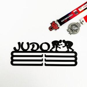 Image 4 - DDJOPH メダルハンガーため柔道スポーツメダルハンガー柔道メダルホルダーメダルディスプレイラック