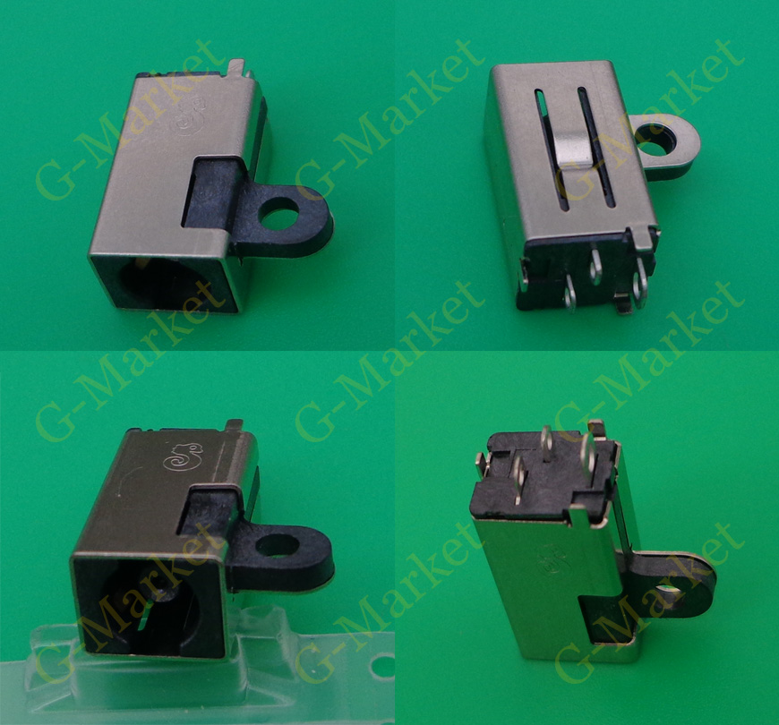 2pcs New DC Power Jack Connector  for Dell  DC JACK DC Connector 4.5*3.0 mm
