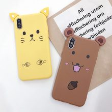 Soft TPU Cute Case For iPhone X XR XS Xs Max 8 Plus 7 Plus TPU Cases For iPhone 6S Plus 6 Plus Case Dirt-resistant Plain Cover перьевая цветочным узором мягкая тонкая резиновая оболочка из силиконового геля tpu для iphone 6 plus 6s plus