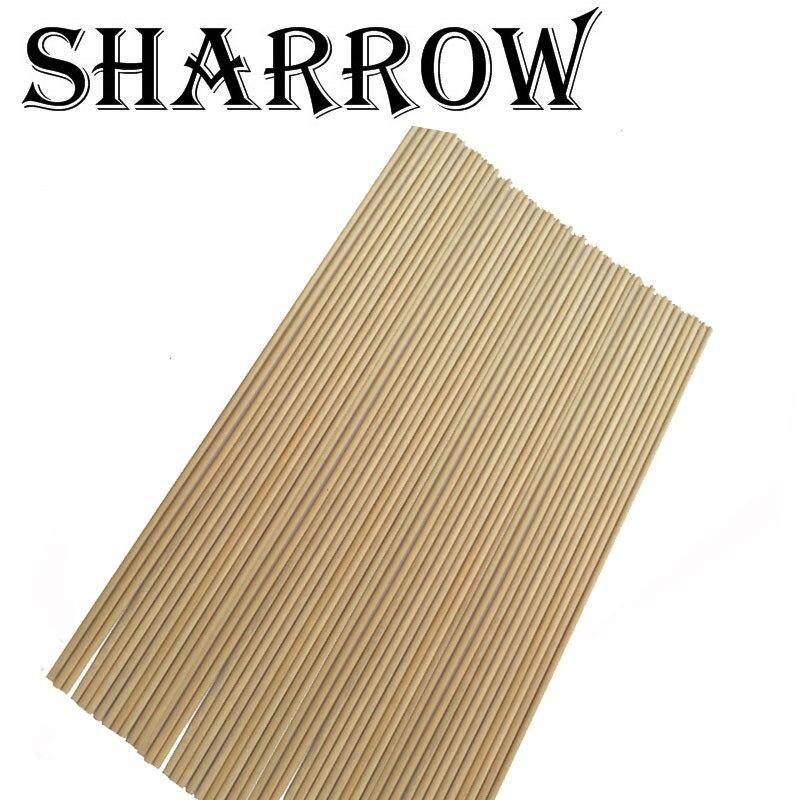 12/24pcs Archery Wooden Arrow Shaft Diameter 8 mm Wood Arrow Shaft 80 cm DIY Wood Arrow Shooting Accessory arrow