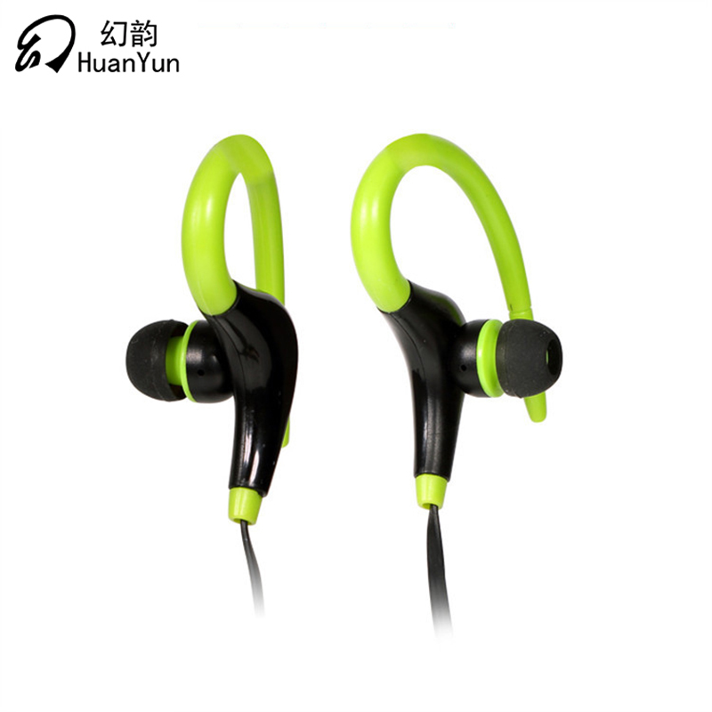 HuanYun Bluetooth wireless earphone Horns Ear Hook Stereo Earbuds IPX4 Waterproof Headset Bass with Mic Running Sport songful s1 stereo deep bass earphone sport running headset sweat proof ear hook earbuds hifi handsfree with mic for iphone mp3 4