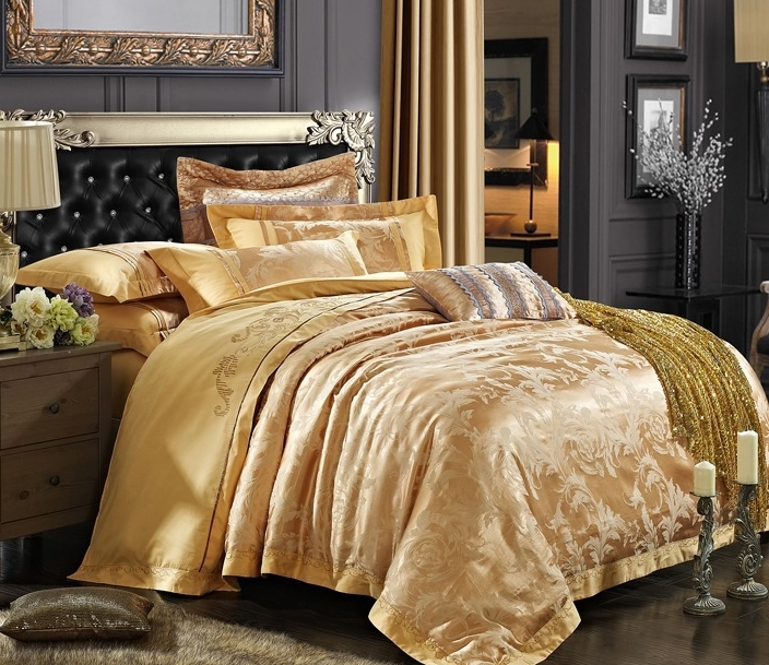 Compare Prices On Gold Comforter Set Online Shopping Buy