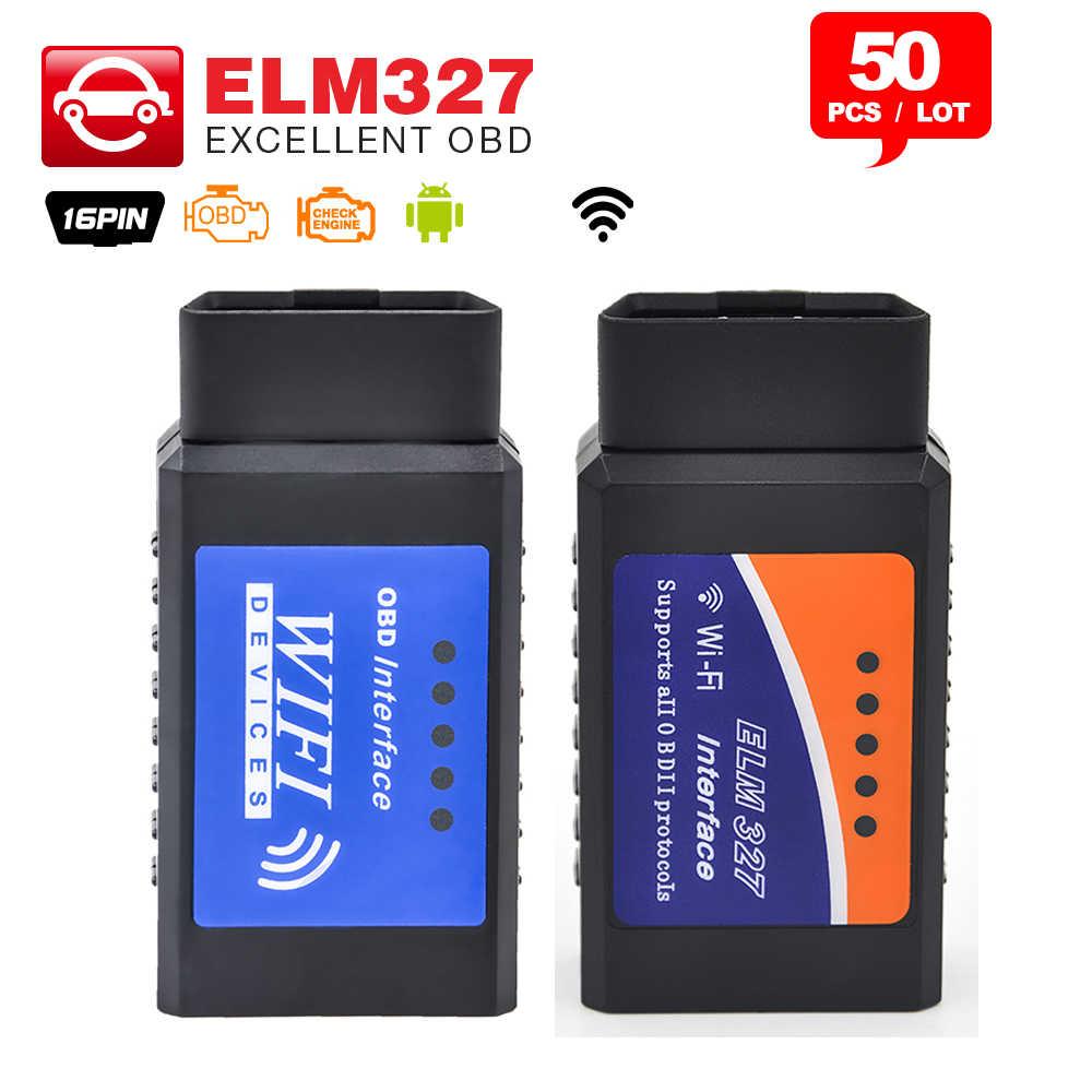 50 шт./лот V1.5 Супер Мини Bluetooth ELM327 OBD2 ELM 327 с Android Torque OBD сканер кода автомобиля|elm 327|obd2