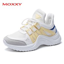 Plus Size 43 Fashion Womens Sneakers 2019 Luxury Designer Ugly White Chunky Women Shoes Dad Trainers chaussures femme