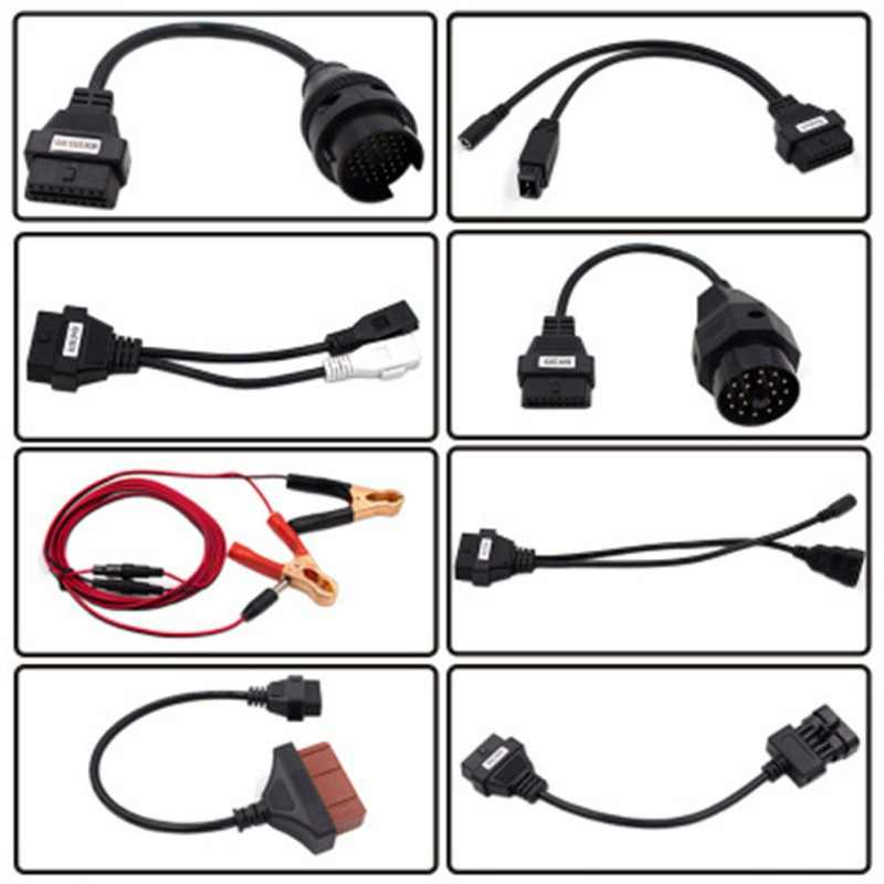 8 sztuk narzędzie diagnostyczne do samochodów kabel interfejs Obd2 dla Delphi dla Autocom Cdp Pro