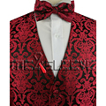 suit/Formal suit/tuxedo paisley waistcoat 4pcs for wedding
