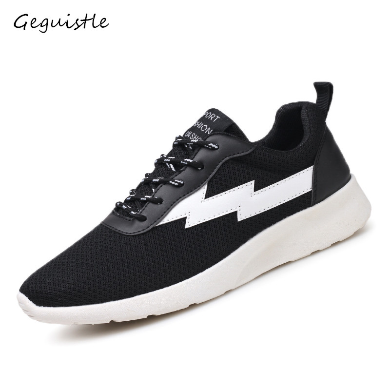Fashion Men Casual Mesh Shoes Breathable Shoes Student s Light Comfortable Shoes