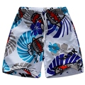 Praia shorts board shorts para o menino do Poliéster de 100% a 100 cm a 150 cm BSG15