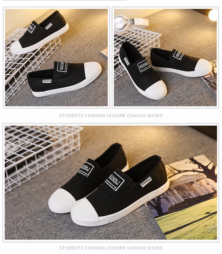 KUYUPP Brand New Woman White Shoes 2016 Summer Casual Flat Slip On Canvas Shoes Round Toe Women\'s Flats Big Size 35-40 PX107 (13)