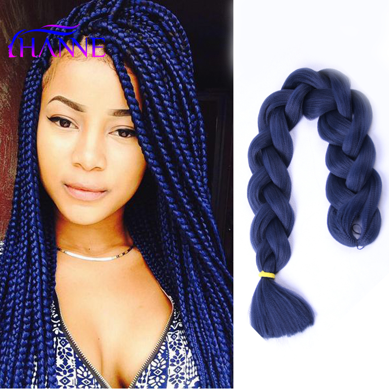 The gallery for --> Box Braids Color
