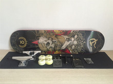 Complete Skateboards Set Union Deck Blank Trucks Element Wheels ABEC-3 Bearings Plus Hardware Set Riser Pad & Installing Tool