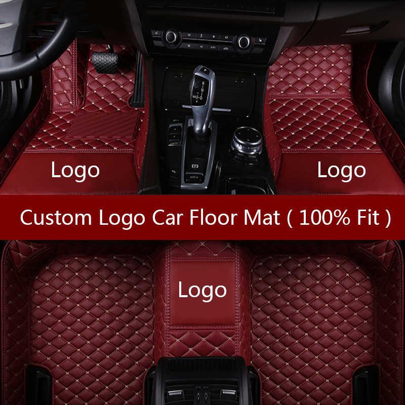 Flash Mat Logo de coche alfombrillas para geely emgrand EC715 EC718 EC7 EC8 EC9 MK águila GC7 GC9 GX2 GX7 NL accesorios del coche de estilo