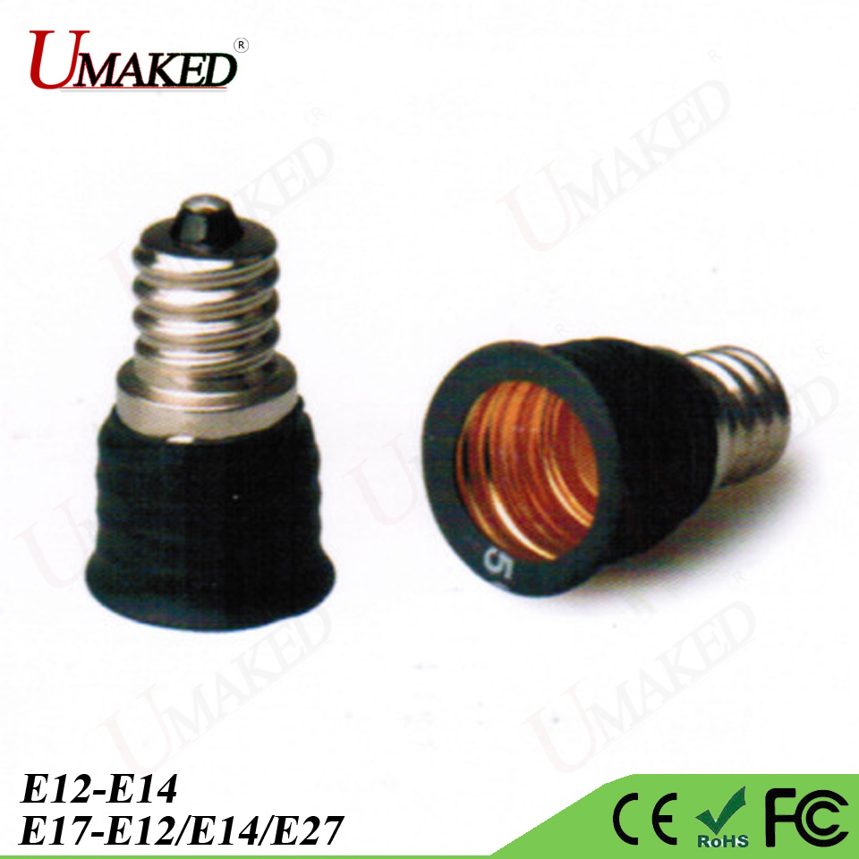 E14 E27 Adapter Us 8 93 7 Off 5pcs E17 E12 Lamp Holder E17 To E12 E14 E27 Bulb Holder Base Lamp Adapter Converter Lamp Socket E14 Bulb Converter Base Holder In
