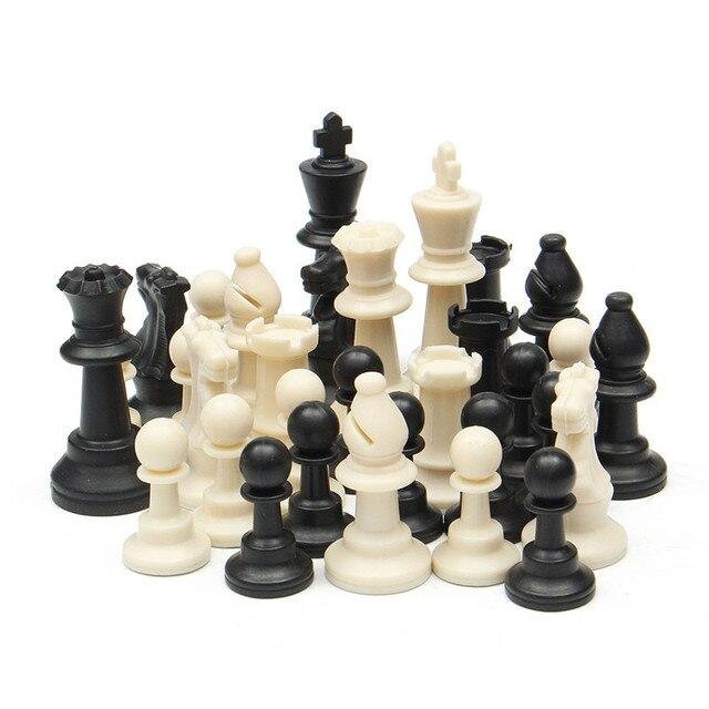 Ensemble d'échiquier traditionnel d'échecs portatif de voyage pour le Club de tournoi avec le conseil enroulable vert + le jeu d'échecs de sac en plastique 4