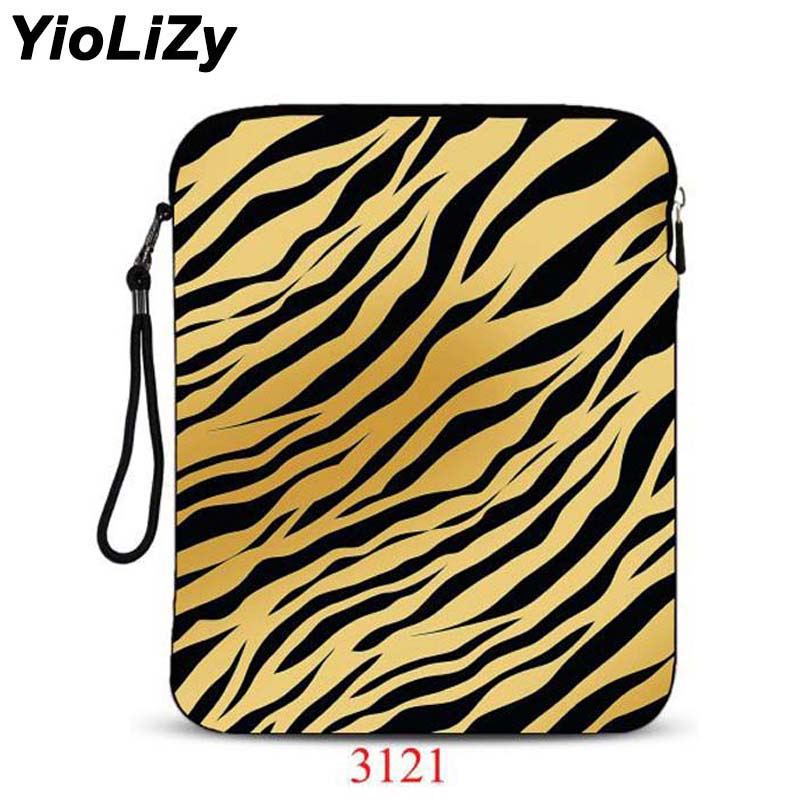 Leopard print 9.7 tablet Case 10.1 inch laptop bag protective skin notebook sleeve Cover pouch For xiaomi mi pad 2 IP-3121