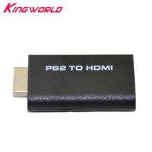 Convertidor de Audio y vídeo para PS2, adaptador HDMI de 3,5mm para PS2, 10 unidades