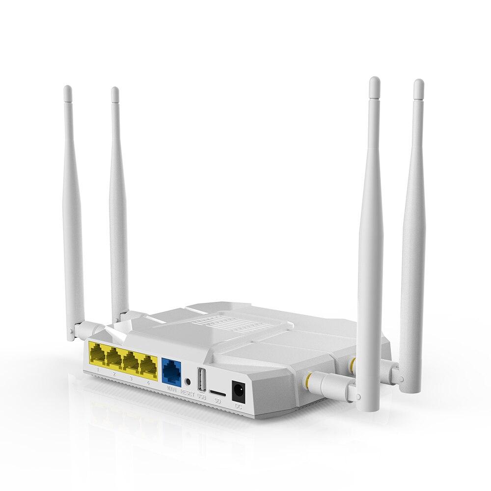 Routeur sans fil 3G/4G 867 Mbps WiFi répéteur 4 1200 Mbps 2,4 GHz/5 GHz 4G SIM 3G 4G routeur 4G LTE RouterVPN PPTP L2TP