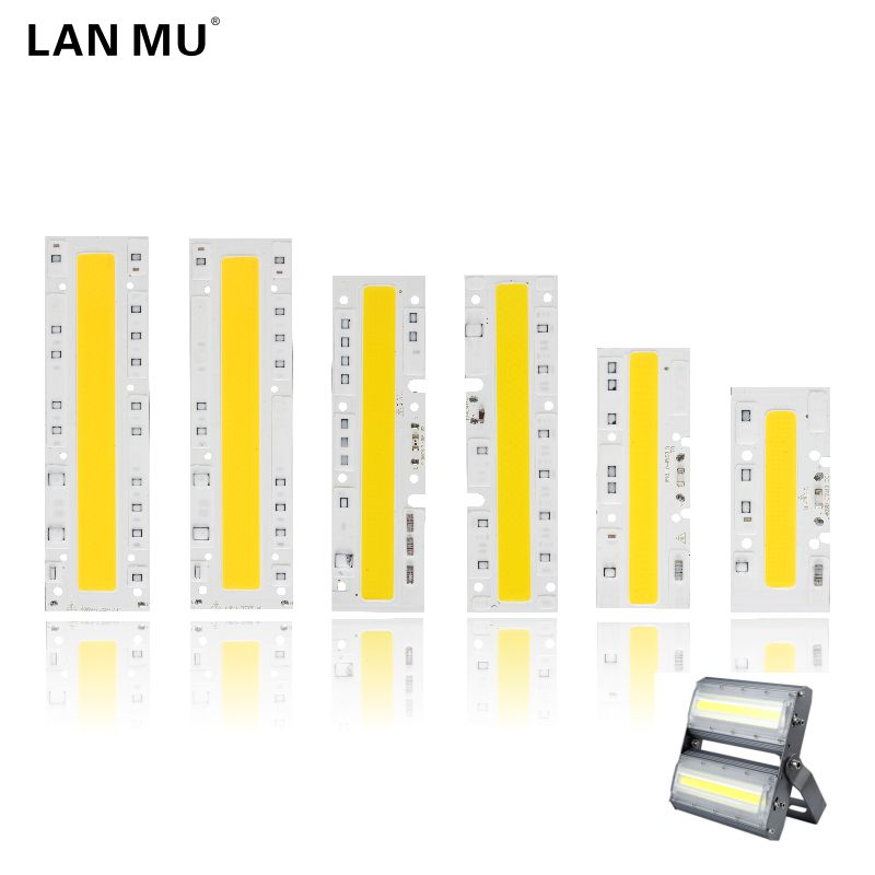 LAN MU LED COB Bulb Lamp Light 30W 50W 70W 100W 120W 150W 220V Input IP65 Smart IC Fit For DIY Outdoor YXT LED FloodLight chip lan mu 10 pcs led cob chip 50w 40w 30w 20w 10w ac 220v 110v no need driver smart ic bulb lamp for diy led floodlight spotlight