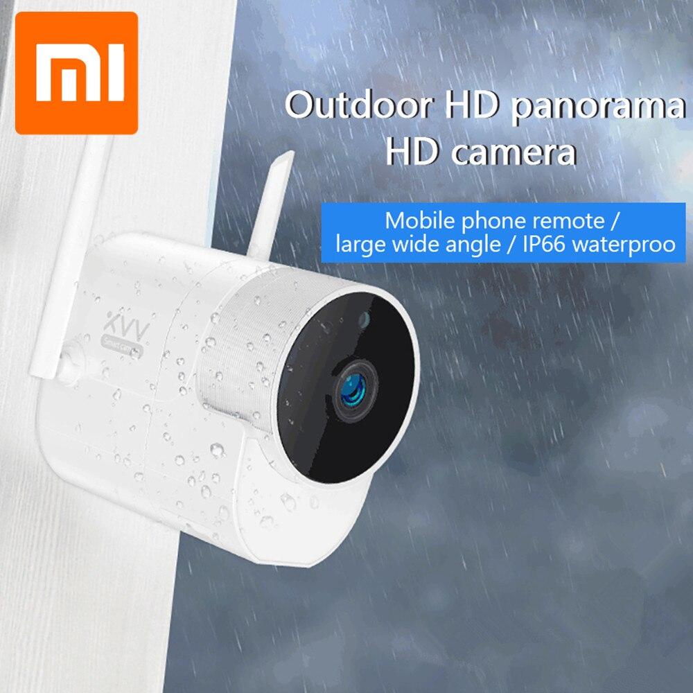 Xiaomi Xiaovv cámara de vigilancia panorámica al aire libre 360 IP 1080P 180 ° Monitor de bebé Control de aplicación de alta definición cámara-in control remoto inteligente from Productos electrónicos    1