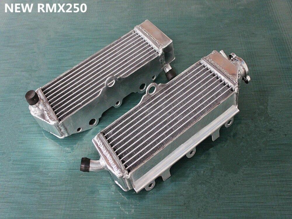 High Performance 40mm L&r Aluminum Alloy Radiator For Suzuki Rmx250 P/r/s/t/v 250cc 1993-1998 1997 1996 1995 1994 Always Buy Good Engines & Engine Parts