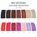 2.5mm DIY SKY SYSTEM CHINA dragon cord  Jewelry & packing & shoes rope Necklaces & Bracelets cords 5meters/roll  NO1~14