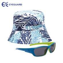 Детские солнцезащитные очки и шляпы eyeguard uv400 для мальчиков