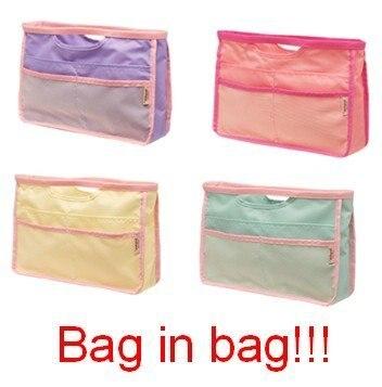 New Style Free Shipping Fashion Cosmetic Organizer Bag Storage Handbag For Women