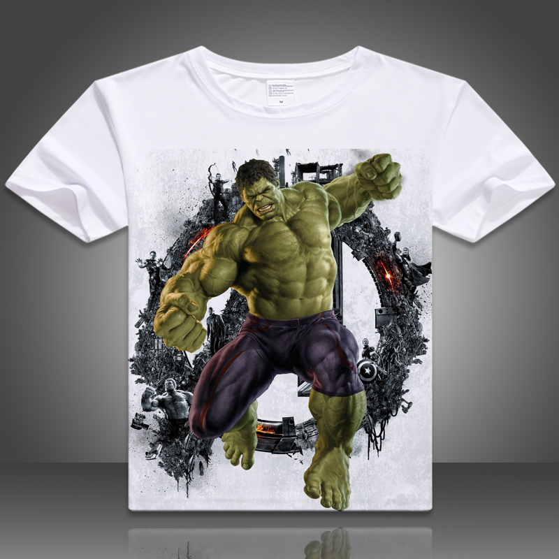2017 newest brand casual tshirt for men Avengers superhero T shirts superhero shirts men fashion t shirts