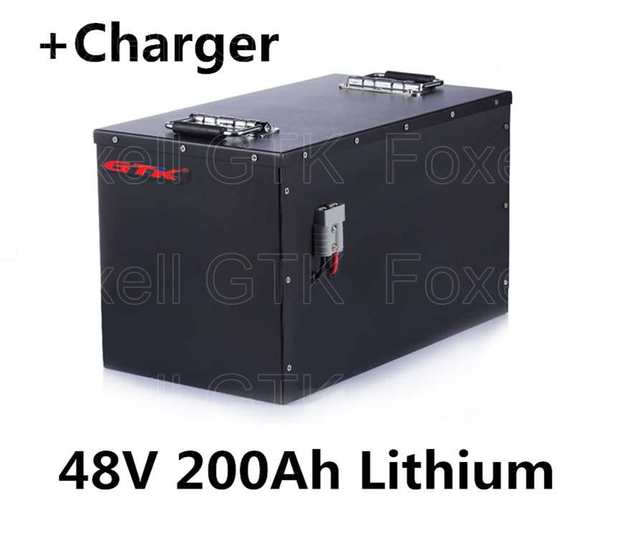 48v 200 Lithium Li Ion Battery Pack For General Energy Sotrage Solar System Electric Vehicles Telecommunications Ups 20a Charger