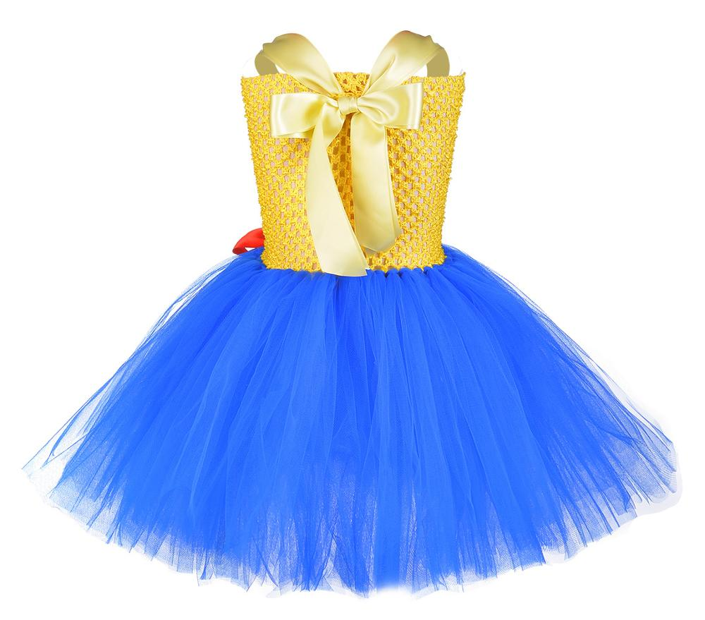 Image 4 - Toy Woody Cowboy Cowgirl Girls Tutu Dress with Hat Scarf Set Outfit Fancy Tulle Girl Birthday Party Dress Kids Halloween Costume-in Girls Costumes from Novelty & Special Use