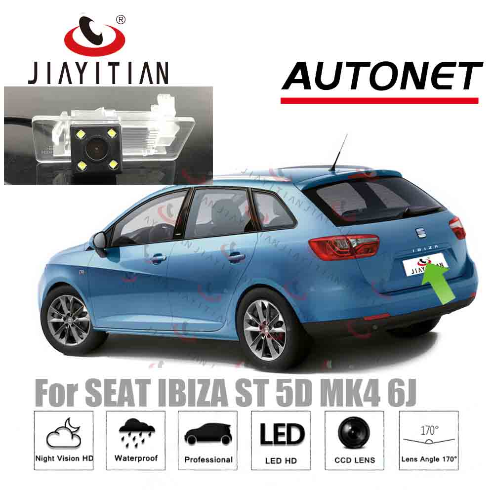 JIAYITIAN Rear View Camera For SEAT IBIZA ST Ibiza Station 2009~2017 CCD Reverse Camera/License Plate Camera/Parking Assistance