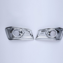 ¡Envío gratis! cubierta de luces antiniebla ABS cromadas de alta calidad para Toyota Fortuner