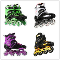 Free Shipping Breathable Adults Sliding Inline Skates Professional Roller Skate Shoes for Men Women Street Free Skating Patines
